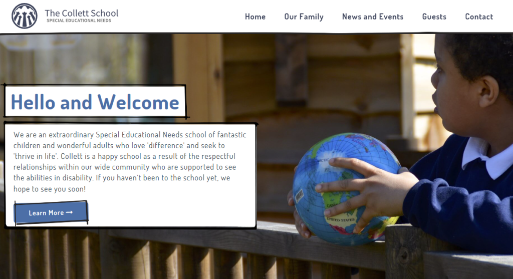The Collett School Website
