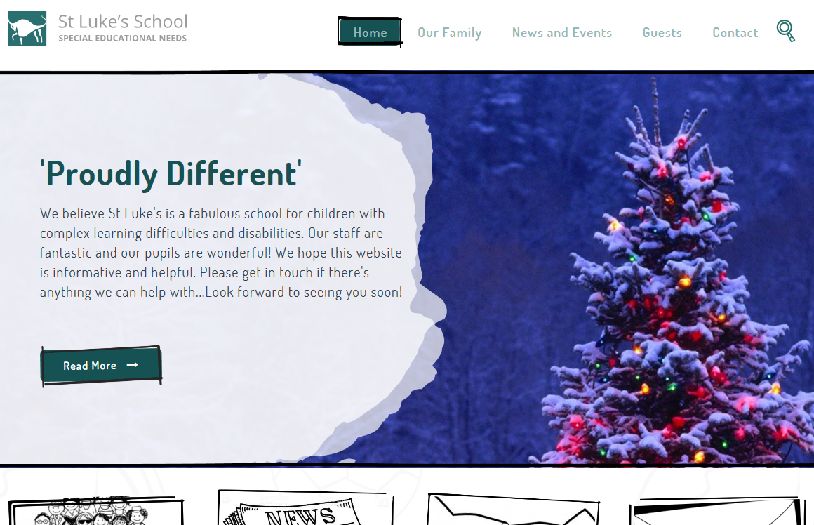 St Luke's School Website